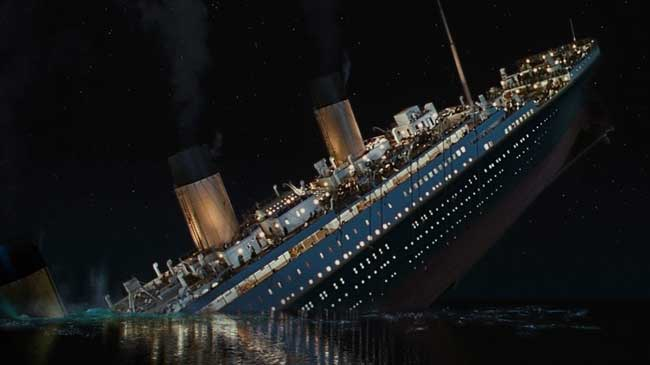 nuevos gráficos 3D del Titanic