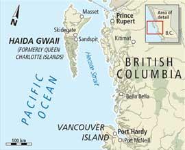 islas Haida Gwaii