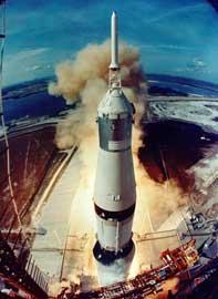 lanzamiento del Apolo 11