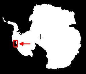 situación en el mapa del Mar de Amundsen