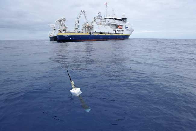 medición temperatura del océano, programa Argo