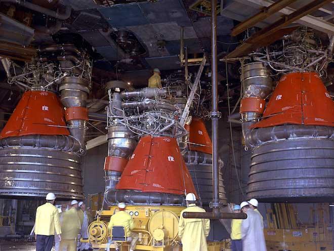 motores del Apolo 11