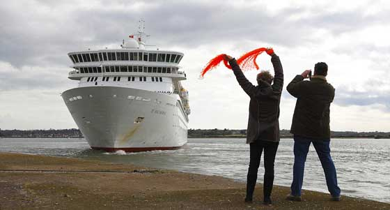El MS Balmoral rememora el viaje del Titanic