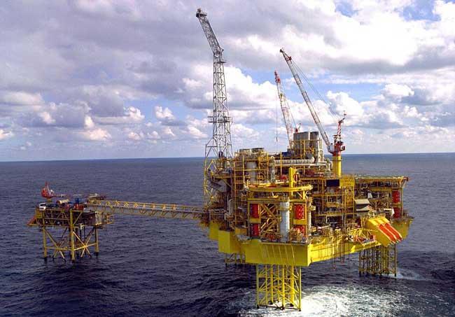 plataforma petrolera Elgin en Escocia