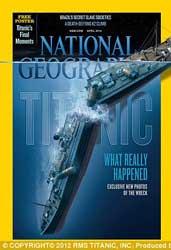 foto del Titanic hundido