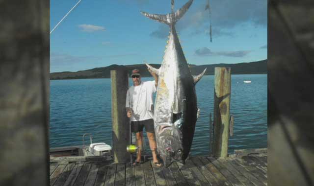 record mundial de pesca de atún