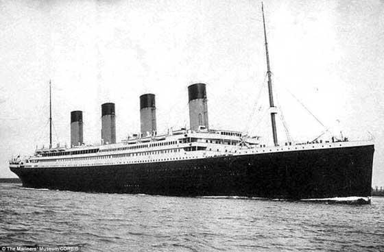 RMS Titanic en 1912