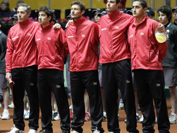 selección española de tenis, Copa Davis