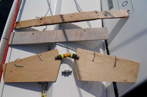 subwing, primer prototipo de madera
