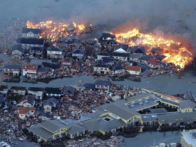 terremoto y tsunami Japón, marzo de 2011