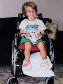 Tom Horn con los pies heridos