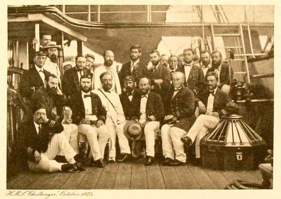 tripulación del HMS Challenger