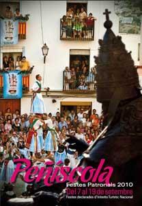 cartel fiestas Peñíscola 2010