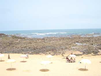 playa en Casablanca, Marruecos