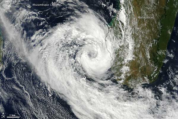 ciclón Izilda