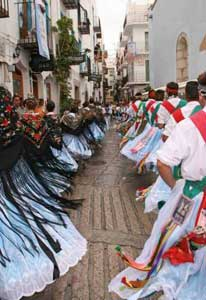 danzas populares, Peñíscola