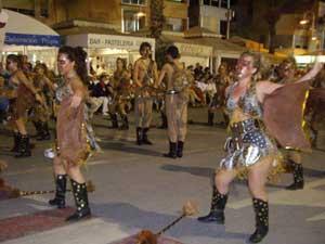 desfile moros y cristianos en Peñíscola