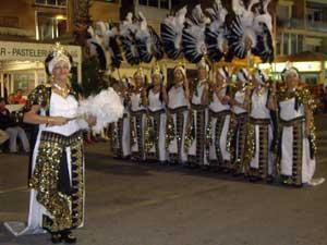 desfile de moros y cristianos en Peñíscola