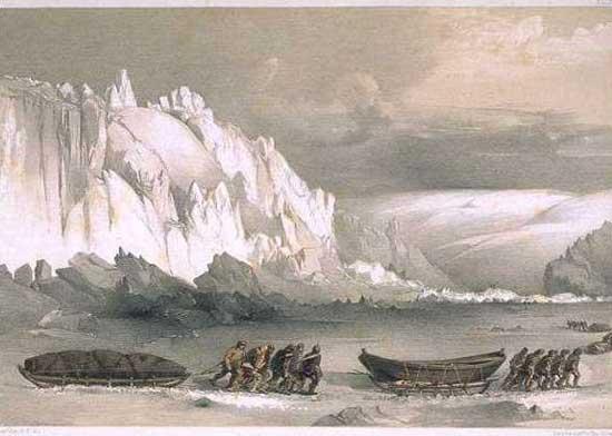 expedición al Paso del Noroeste de Franklin