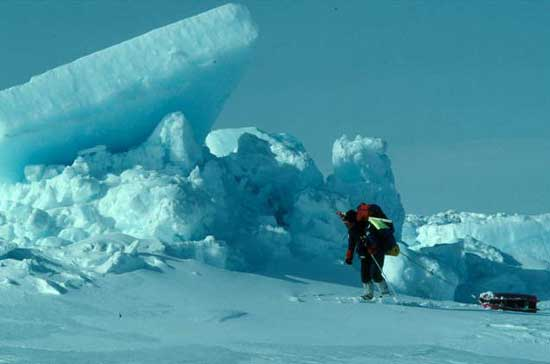 expedición al Polo Norte de Weber y Malakhov