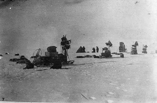 expedición al Polo Sur de Amundsen