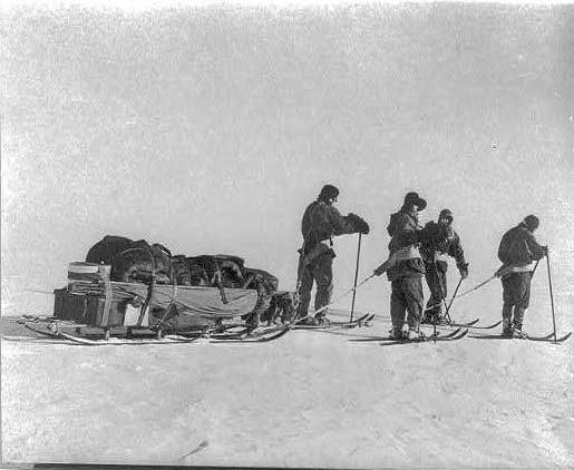 expedición Terra Nova de Robert Falcon Scott