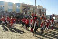 fiestas taurinas de Peñíscola, danzas típicas en plaza de toros