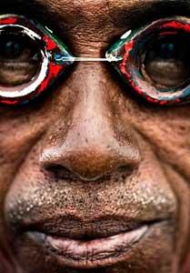 gafas de buceo Bajau