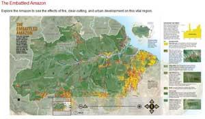 mapa interactivo del amazonas
