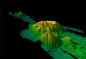 montañas submarinas Patton