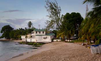 playa en Mullins Bay, Barbados