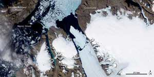 Petermann glaciar