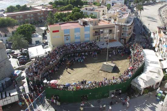 plaza de toros de Peñíscola