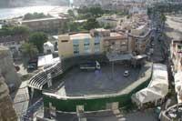 plaza de toros de Peñíscola, montaje