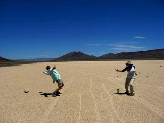 Racetrack Playa, estudiantes NASA