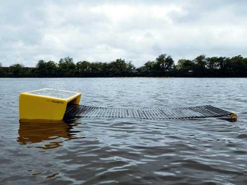Seaswarm, robot limpia petróleo