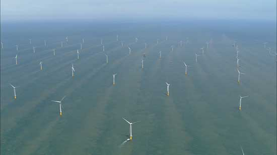 parque eólico marino más grande del mundo: Thanet Offshore Wind Farm