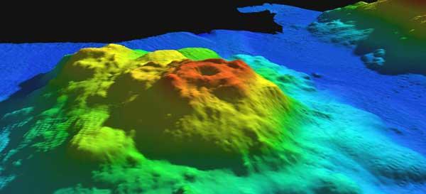 volcán submarino Ely, Alaska