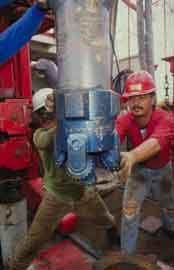 broca de perforación submarina