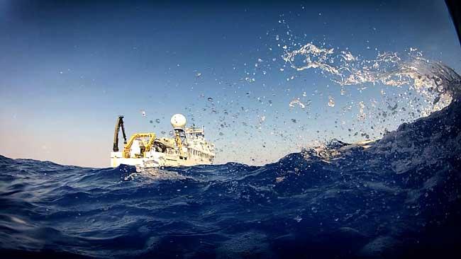 buque Okeanos explorer de la NOAA