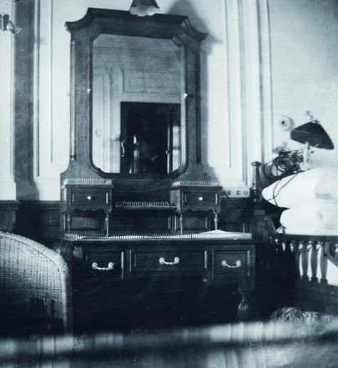 camarote del padre Browne en el Titanic