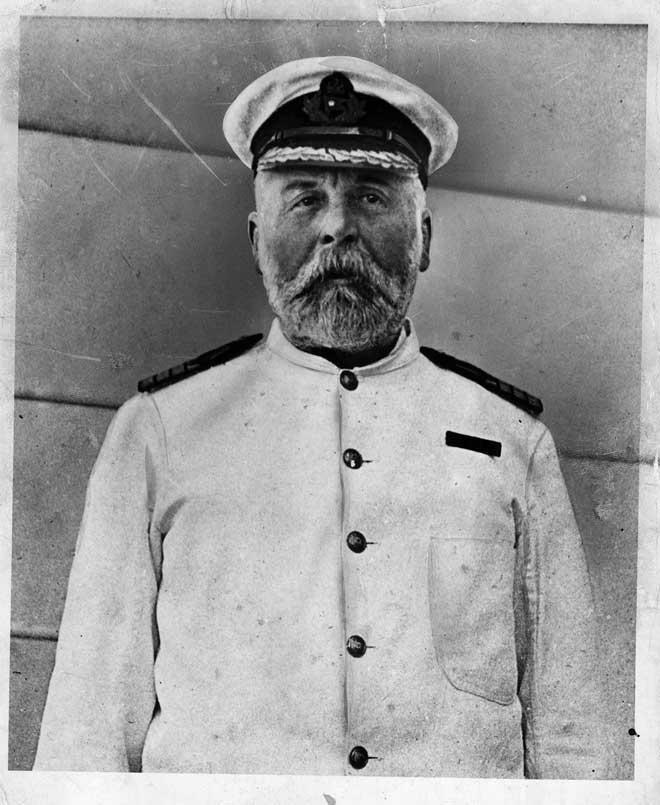 capitán del Titanic, Edward John Smith