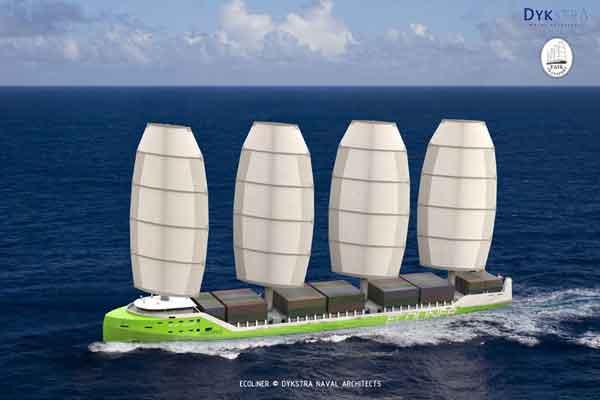 barco a vela Ecoliner