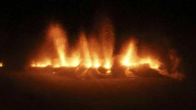 erupción del Eyjafjoell