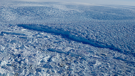 glaciar Jacobshavn, Groenlandia - detalle