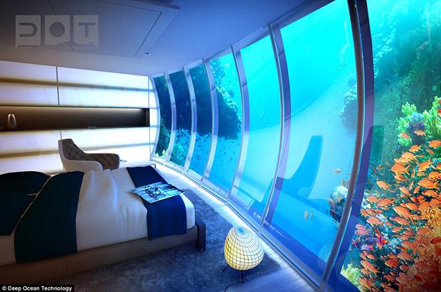 hotel sumergido de Dubai