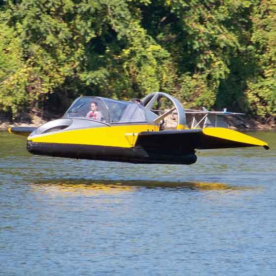 hovercraft volador