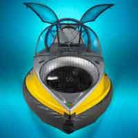 hovercraft volador, concepto