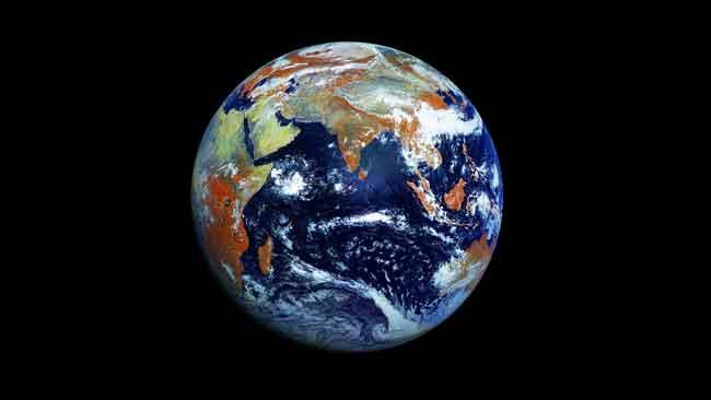 imagen definitiva de la Tierra desde el espacio