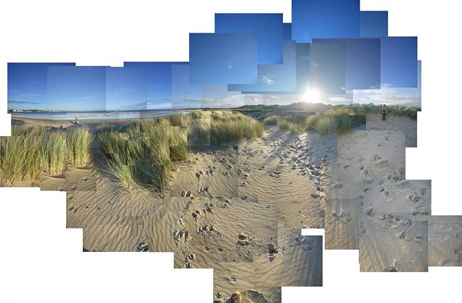mosaico fotográfico Shell Bay